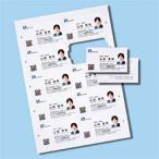 インクジェットまわりがきれいな名刺カード・標準(A4、10面、20シート200カード入り)