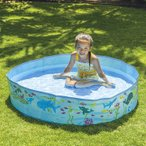 空気入れ不要 JILONG ジーロン ガーデンプール120cm ビニールプール 浮き輪 プール 家庭用 水遊び