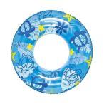 イガラシ ホヌビーチウキワブルー120cm ビニールプール 浮き輪 プール 家庭用 水遊び