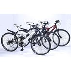 マイパラス 自転車 クロスバイク 26インチ・6段ギア・リアサス