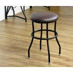 スツール アンジェ ange iwnk-92 椅子 チェア 背もたれなし 北欧 革 レザー アンティーク レトロ 金属製 アイアン 鋲 おしゃれ 代引不可