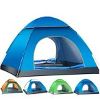 ワンタッチテント フルクローズ サンシェード 4人用 3人用 ポップアップ 折りたたみ タープテント UVカット 簡易テント 簡単設営 代引不可