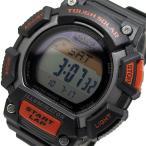 カシオ CASIO デジタルソーラー メンズ 腕時計 STL-S110H-1A ブラック/オレンジ