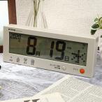 ノア精密 MAG マグ 電波カレンダー こよみん W-762BE-Z 電波時計 デジタル 置き 掛け カレンダー 温度 曜日 シンプル 時計 時間