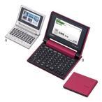 カシオ 電子辞書 XD-C500GD B/レッド(代引き不可)