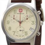 WENGER ウェンガー 腕時計 WEN72951 メンズ フィールドクロノ アイボリー/シルバー