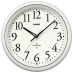 CASIO (カシオ) 常時点灯機能付き 電波アナログ壁掛け時計 ホワイト IQ-1050NJ-7JF