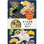 (まとめ)懐石レトルト まぐろ白身 しらすを添えて 魚介だしゼリー 40g〔×72セット〕〔ペット用品・猫用フード〕