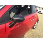 リアルカーボン製 ドアミラーカバー フィアット500 アバルト500 アルファロメオ 4C 専用 1セット FIAT500 ABARTH500 日本製 新品