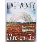 送料無料 コレクターズアイテム ラルク・アン・シエル LIVE TWENITY DVD L'Arc~en~Ciel PR