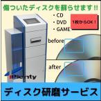ディスク 研磨 サービス CD / DVD ゲームソフト クリーニング 修復 修理