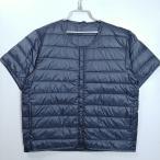 大きいサイズ メンズ ダウンジャケット 半袖 ライトダウン インナーダウン 軽量ダウン ビッグサイズ アウター ブルゾン ユニセックス 送料無料9507