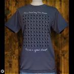 Tシャツ/メンズ/レディース/6.2oz半袖Tシャツ : Sleep Sheep(Black) : ダークグレー