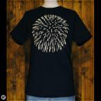 ショッピングtシャツ Tシャツ/メンズ/レディース/6.2oz半袖Tシャツ :  花火 : ネイビー