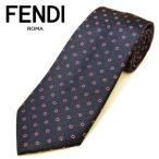 フェンディ ネクタイ(8cm幅) FFA18【ネクタイ ブランド】【メンズ ビジネス】