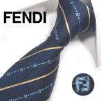 【ブランド ネクタイ】フェンディ ネクタイ(8cm幅) FFA75【メンズ ビジネス】