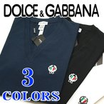 ショッピングGABBANA ドルチェ&ガッバーナ Tシャツ DOLCE&GABBANA Vネック Tシャツ