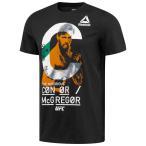 リーボック ウェア Tシャツ Reebok UFC MCGREGOR X-RAYグラフィック ショートスリーブTシャツ