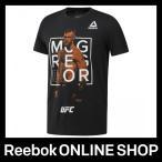 リーボック Tシャツ Reebok UFC FG MCGREGOR FIGHTER グラフィック ショートスリーブTシャツ