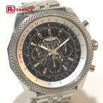 BREITLING ブライトリング ベントレーB06 メンズ腕時計 クロノグラフ SS 革ベルト 裏スケ AB0611 【中古】