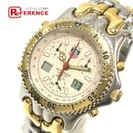 TAG HEUER タグホイヤー CG1123-0 セナモデル デイト セルシリーズ  腕時計 ゴールド メンズ 【中古】