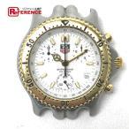TAGHEUER タグホイヤー セルシリーズ クロノグラフ プロフェッショナル200M メンズ腕時計 SS×GP クォーツ CG1120-0 【中古】 KK