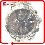 TAG HEUER タグホイヤー CJF2115 クロノグラフ リンク 腕時計 シルバー メンズ 【中古】