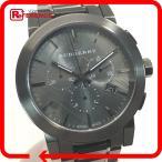 BURBERRY バーバリー BU9354 クロノグラフ シティ 腕時計 ガンメタル メンズ 【中古】