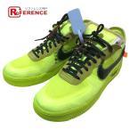NIKE ナイキ AO4606 700 AIR FORCE 1 LOW GHOSTING 3.0 VOLT スニーカー 靴 スニーカー イエロー×ブラック メンズ 【中古】