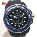 CHANEL シャネル H2559 J12 マリーン ブルーベゼル 腕時計 ブルー×ブラック メンズ 【中古】