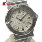 BVLGARI ブルガリ DG35S デイト ディアゴノ 腕時計 シルバー メンズ 【中古】