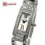 Cartier カルティエ タンク ダイヤモンド K18WG ホワイトゴー…
