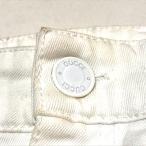 GUCCI グッチ GUCCIOLI(グッチョリ) チワワ ミニスカート 36 ホワイト 【中古】