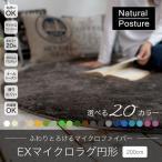 トシシミズ Natural Poster EXマイクロラグ(MS-300)200cm円形