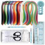ペーパークイリング キット Juya Paper Quilling Kits with 920 Strips and 8 Tools and a Box 海外直輸入品(お取り寄せ商品)