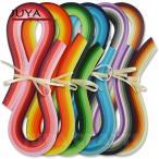 Yahoo!クラフトショップ レガーロペーパークイリング /3mm・5mm クイリングペーパー <JUYA>36色 54cm 720本セット 海外直輸入品(お取り寄せ商品)