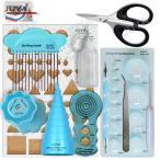 ペーパークイリング キット Juya Advanced Paper Quilling Tools Kits with Board, Slotted, and Others 海外直輸入品(お取り寄せ商品)