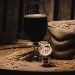 """ORIGINAL GRAIN """"THE BREWMASTER Collection""""  The Barrel 42mm"""