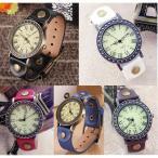 レトロ 腕時計 ウォッチ アンティーク カジュアル メンズ レィース ギフト 5色