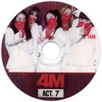 【韓流DVD】4MINUTE フォーミニッツ★4M ACT.7★PV & TV COLLECTION★K-POP MUSIC