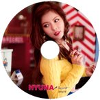 【韓流DVD】4MINUTE フォーミニッツ HYUNA ヒョナ ★PV & TV COLLECTION★K-POP MUSIC