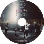 【韓流DVD】 EXO エクソ 「 TV Collection 」★ LOVE ME RIGHT
