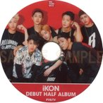 【韓流DVD】iKON 【 DEBUT HALF ALBUM】PV & TV COLLECTION ★ iKON アイコン