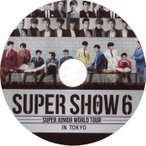 【韓流DVD】 SUPERJUNIOR 【 SUPER SHOW 6 】 CONCERT★K-POP スーパージュニア SUPER JUNIOR