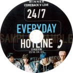 【韓流DVD】 WINNER 「 COMEBACK LIVE 」EVERYDAY 2018.04.03(日本語字幕)★ウィナー