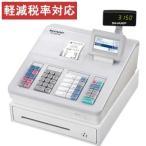 レジスター シャープ 本体 XE-A207W-W/ホワイト 売上データをSDカードに保存可能 10部門 軽減税率対策補助金対象レジ