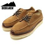 DEDEsKEN/デデスケン ショートモカシンレザーシューズ ブラウン(グッドイヤーウェルト製法/革靴/短靴/メンズ/男性用) (10525)