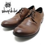 whoop de doo/フープディドゥ 306954 レースアップシューズ ダークブラウン本革シューズ ビジネス/ドレス/紐靴/革靴/仕事用/メンズ
