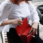 ジャバラ 母子手帳ケース 2人用 (RED) リッタグリッタ母子手帳クラッチ