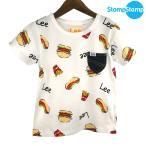 STOMP STAMP(ストンプスタンプ) LEE コラボ ジャンクフードTシャツ  (90-140) Tシャツ